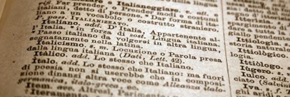 Traducciones profesionales al italiano en Madrid con Baxter Business Services Consulting. Servicios de traduccion de textos generales, traducciones de textos especializados y traducciones juradas para empresas.
